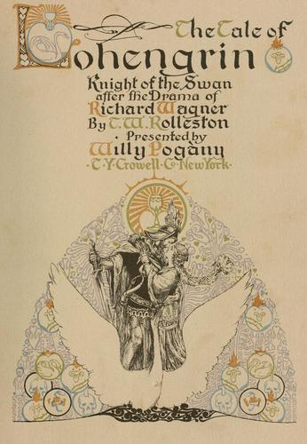 The tale of Lohengrin, knight of the swan