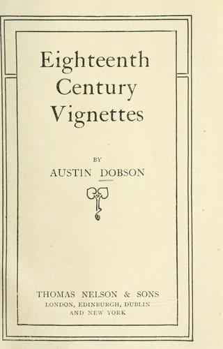 Download Eighteenth century vignettes