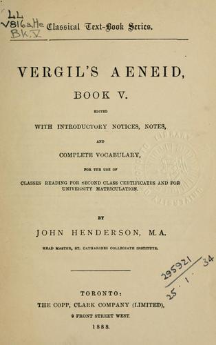 Aeneid, Book V