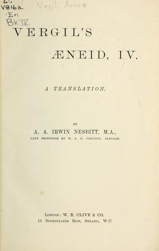 Download Aeneid, IV