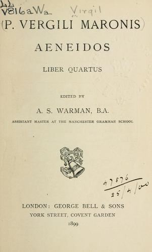 Aeneidos liber quartus