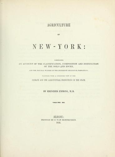Download Agriculture of New York