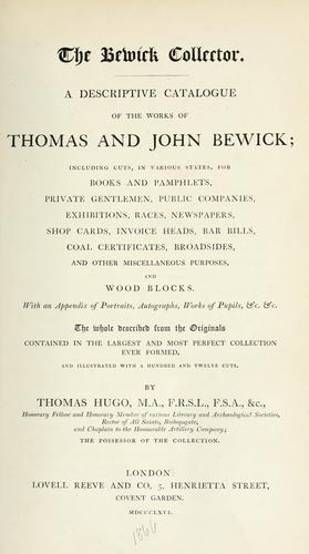 Download The Bewick collector.