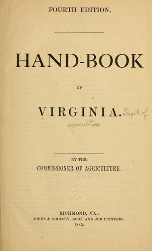Download Hand-book of Virginia.