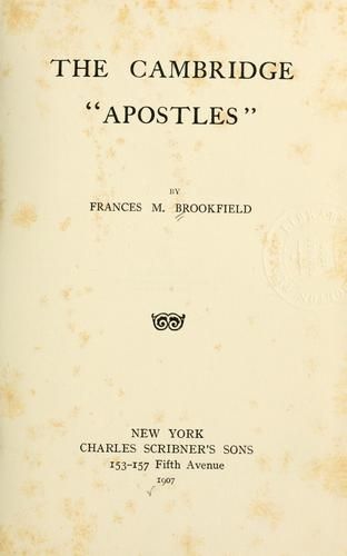 "Download The Cambridge ""Apostles"""