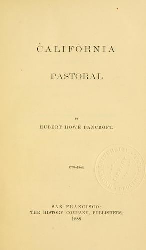 Download California pastoral. 1769-1848.