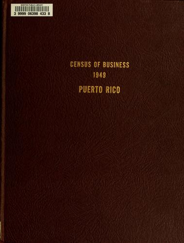 Download Census of business, 1949