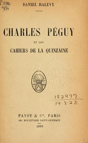 Download Charles Péguy et les Cahiers de la quinzaine.