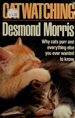 Cat watching by Desmond Morris