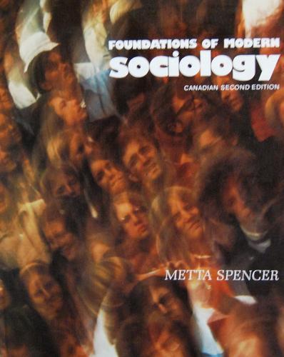 Foundations of modern sociology