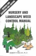 Nursery and landscape weed control manual