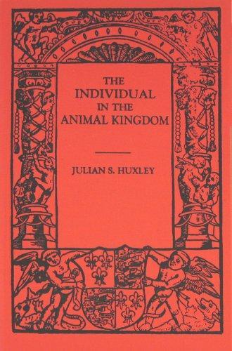 Download The individual in the animal kingdom