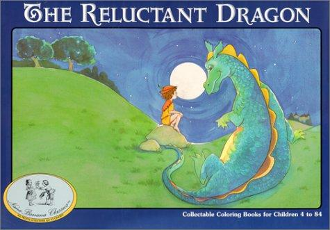 The Reluctant Dragon/Coloring Book (Nanabanana Classics)
