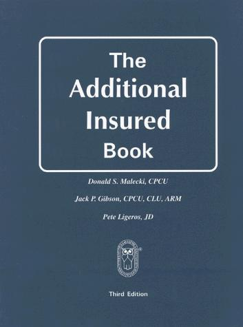 Download The additional insured book