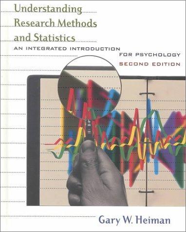 Understanding research methods and statistics