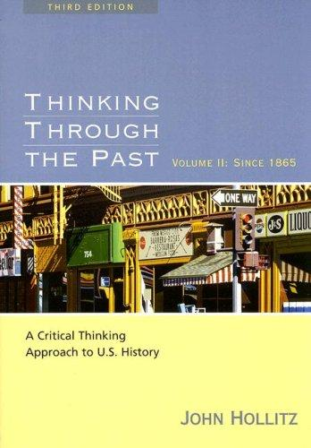 Download Thinking through the past