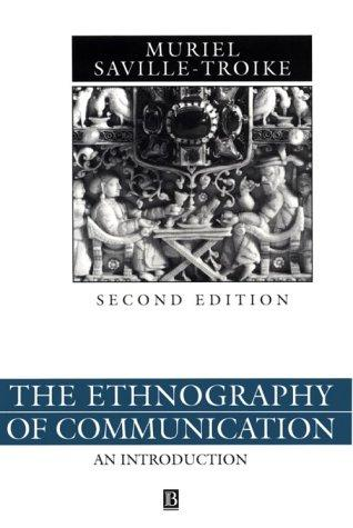 The ethnography of communication