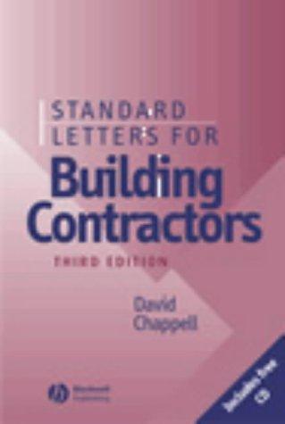 Download Standard letters for building contractors