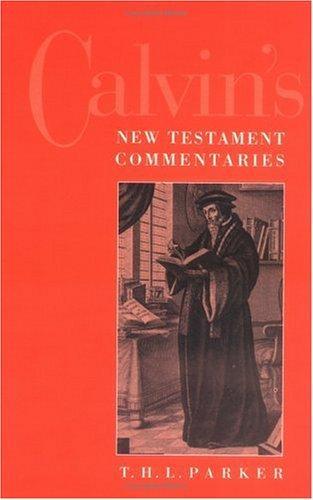 Download Calvin's New Testament commentaries