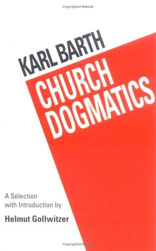 Download Church dogmatics