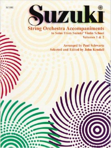 String Orchestra Accompaniments to Solos