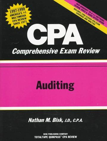 Cpa Comprehensive Exam Review