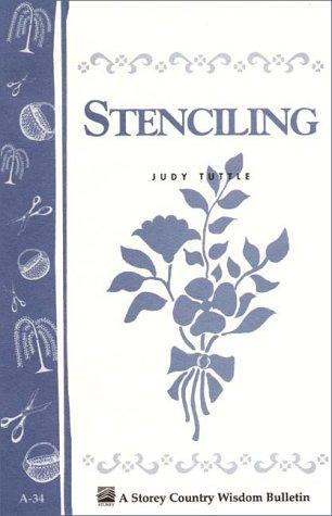 Stenciling by Judy Tuttle