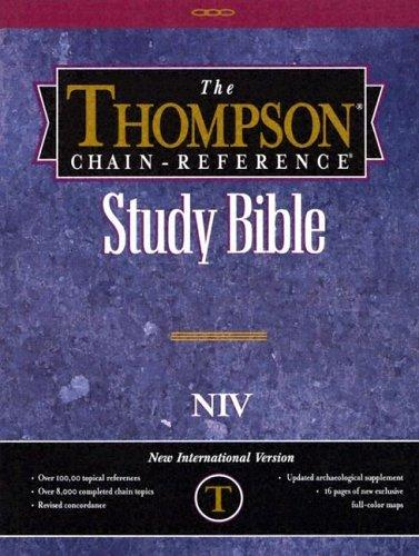 Download The Thompson Chain-Reference Bible