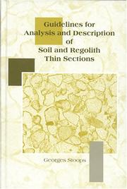 Guidelines for Analysis and Description of Soil and Regolith Thin Sections