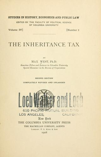 Download The inheritance tax
