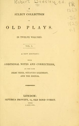 Download A select collection of old plays