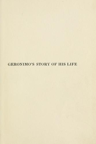 Download Geronimo's story of his life