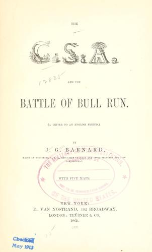 Download The C.S.A. and the battle of Bull Run.