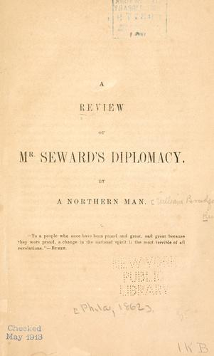 Download A review of Mr. Seward's diplomacy