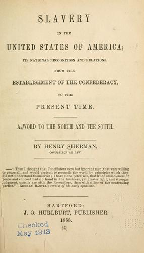 Download Slavery in the United States of America