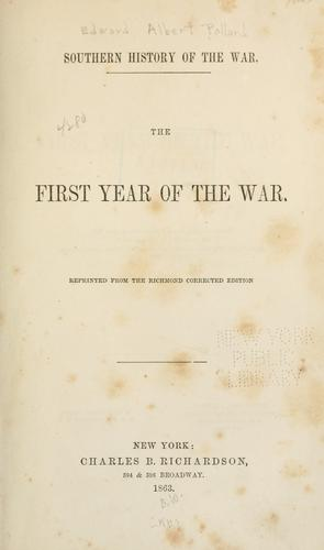 Download The first year of the war.