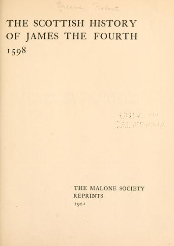 Download The Scottish history of James the Fourth