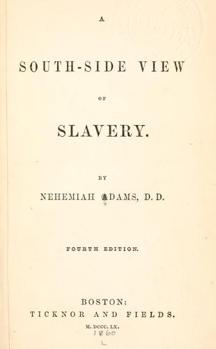 Download A south-side view of slavery.