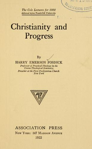 Download Christianity and progress
