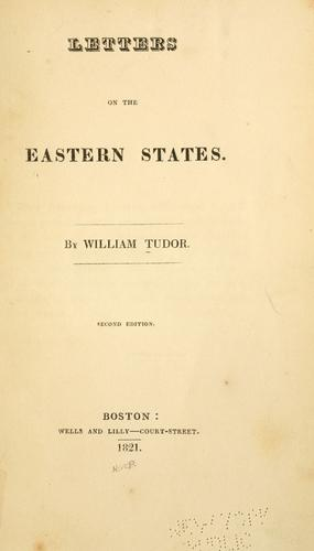 Download Letters on the eastern states.