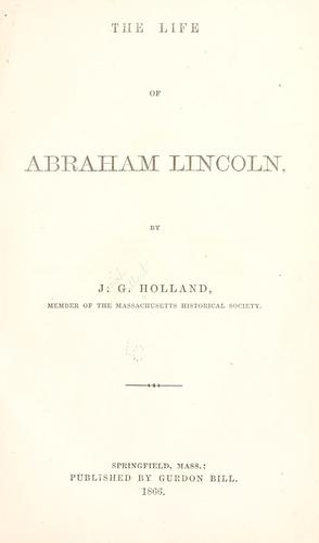 Download Life of Abraham Lincoln
