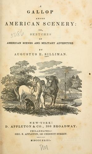 A gallop among American scenery
