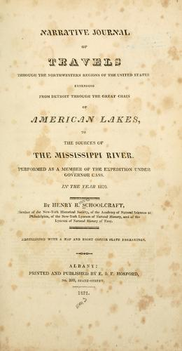 Narrative journal of travels through the northwestern regions of the United States