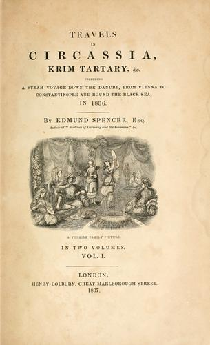 Download Travels in Circassia, Krim-tartary, &c.