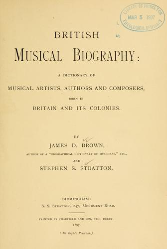 Download British musical biography