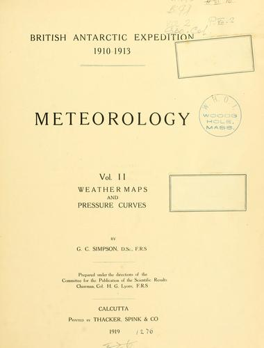 Download Meteorology…