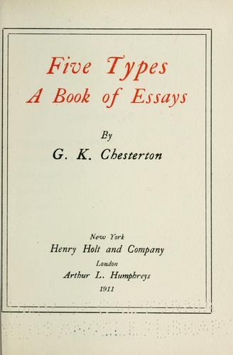 Five types