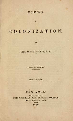 Views of colonization.