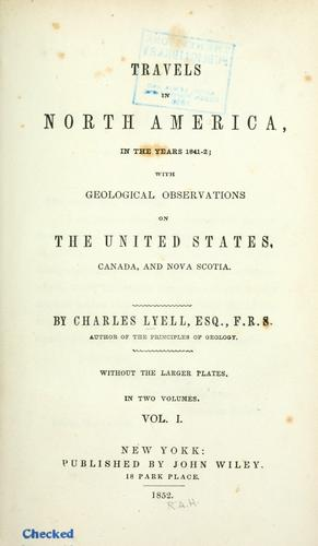 Download Travels in North America, in the years 1841-2