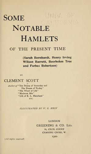 Download Some notable Hamlets of the present time